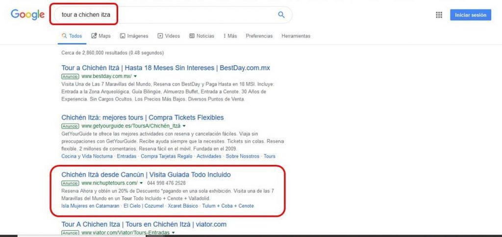 Agencia de Publicidad en Google Cancún Publicidad Digital YUUMGO