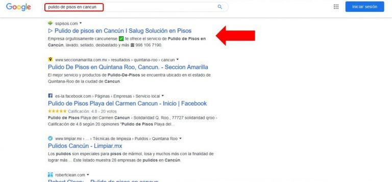 posicionamiento web en cancun