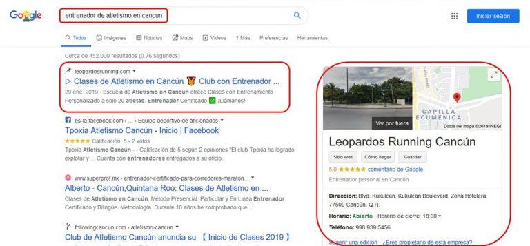 posicionamiento y diseño web cancun